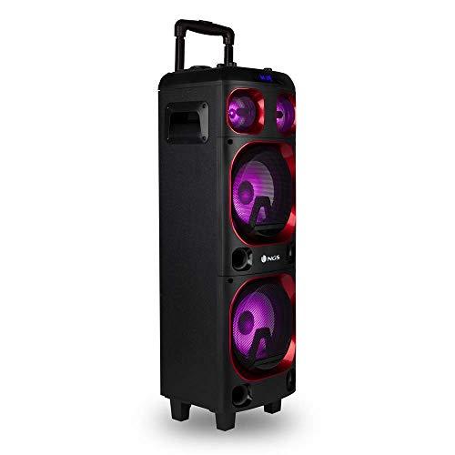 NGS Wild Ska 1 - Altavoz portátil de 300W Compatible con Tecnología...