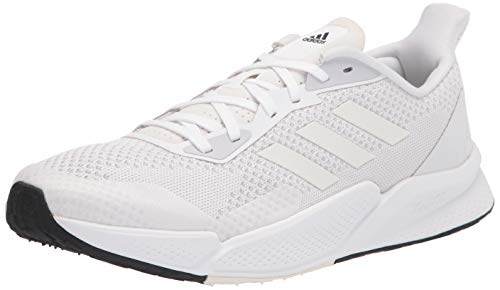 adidas Men's X9000L2 Running Shoe, White/White/d Grey, 10