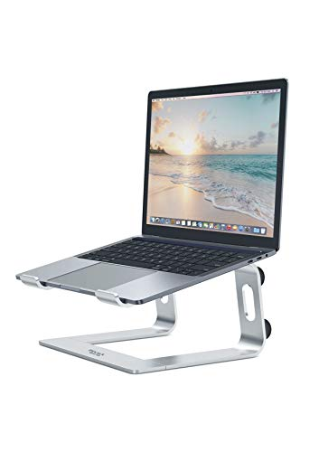 PIVOT Laptop Stand | Aluminium Laptop Stand with Enhanced Cable Management System, Wider Keyboard Storage Space, Promotes Healthy Ergonomic Support while Working