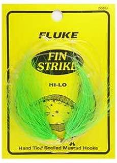 Fin Strike #568 2 Hi-Lo Bucktail Fluke Rig