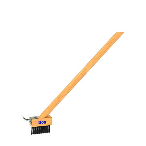 Bon Tool 21-159 Paver Joint Wire Brush with Handle