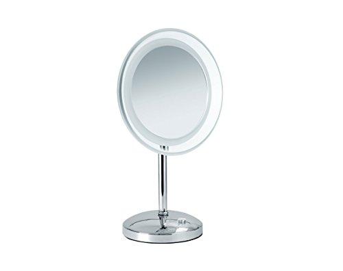 Nicol 4025500 Mariella Kosmetikspiegel LED-Beleuchtung Standspiegel 5-fach Vergrößerung