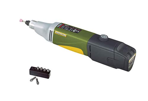 Proxxon 29802 Universallschleifer/ Akku-Industrie-Bohrschleifer Ibs/A 6 Micromot-Stahlspannzangen, 1 5 - 2 4 - 3 und 3, 2 mm
