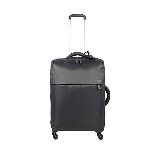 Lipault - Original Plume Spinner 65/24 Luggage - Medium Suitcase Rolling Bag for Women - Anthracite Grey