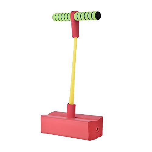 kingpo Foam Pogo Jumper, Deluxe Bungee Boing, per Bimbi di età Compresa tra 2 e Fino, Durevole Schiuma e Bungee Jumper per Bambini Divertenti e sicuri Pogo Stick (Red)