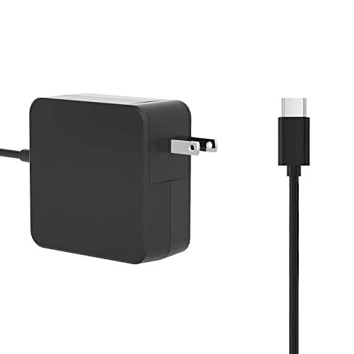 45W Type/USB C Wall Charger Compatible with Lenovo Yoga 720 910 920 Miix 720,Thinkpad X1 Tablet,ASUS UX391UA C302CA C223NA T305CA,Acer Spin 7 Swift 7,Acer Chromebook Spin 11 CP311 Power Cable