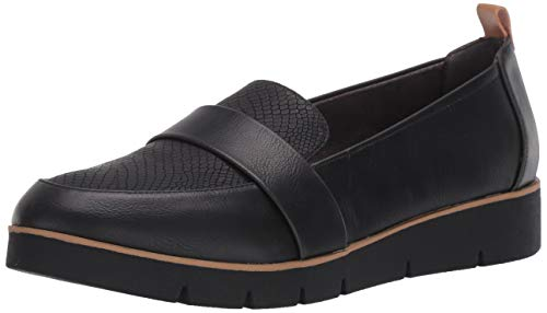 Dr. Scholl's Shoes womens Webster Loafer, Black, 8.5 Wide US