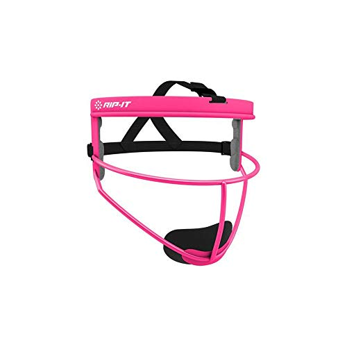 RIP-IT Defense Softball Fielder's Mask (Pink, Adult)