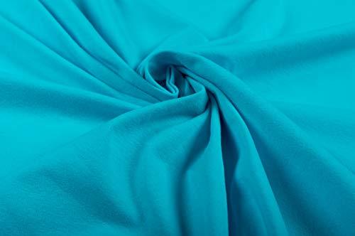 PINSOLA Jersey Stoff Meterware Öko-Tex Standard 100 Material für T-Shirts Kleider Shorts Leggins Schlafanzug Kinderkleidung