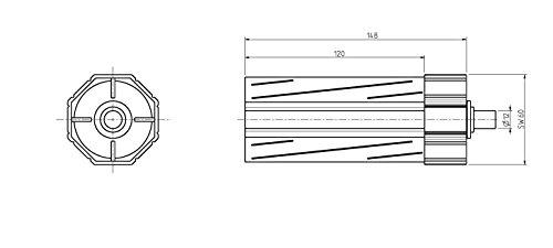 EETOOLS Lot de 10 disques abrasifs pour meuleuse dangle 115 mm grain 40 Grain