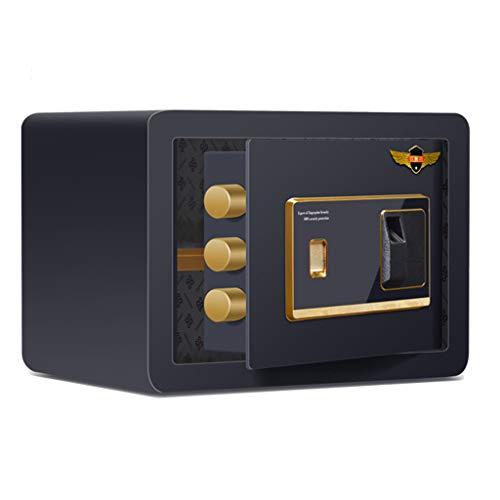 Casseforti a armadio Casa sicura piccola invisibile sicuro impronta digitale password 25 cm cm home office cassetta di sicurezza antifurto parete elettronica mini cassetta di sicurezza
