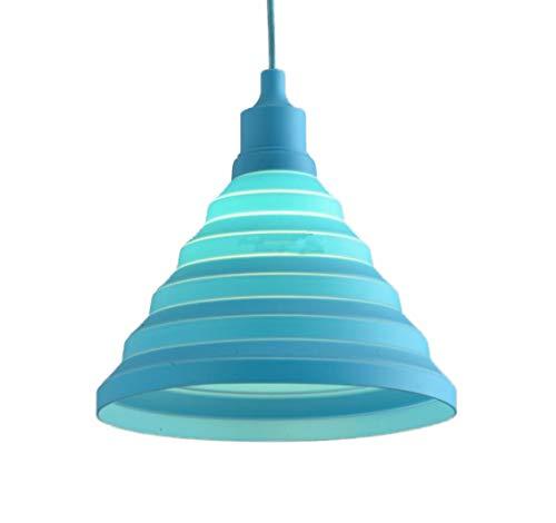 Personalità Colorato Lampade a Sospensione-Creativa Silice Illuminazione E27 Luce Ombra Decorazione (Lampadina Non Inclusa)