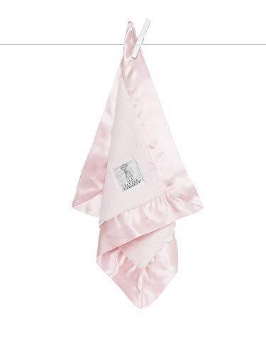"""Little Giraffe Luxe Solid Blanky – Baby Blanket, 14"""" x 14"""""""