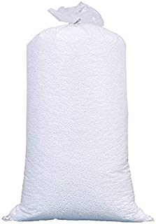 Amazon Brand - Umi. Premium 1 Kg Bean Bag Refill/Filler - White Lemon (1 kg Beans - 700 Grams net Weight as per Indian Sta...