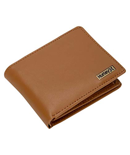 Hurley U OO Leather Wallet Hombre, Lt British Tan, 1SIZE