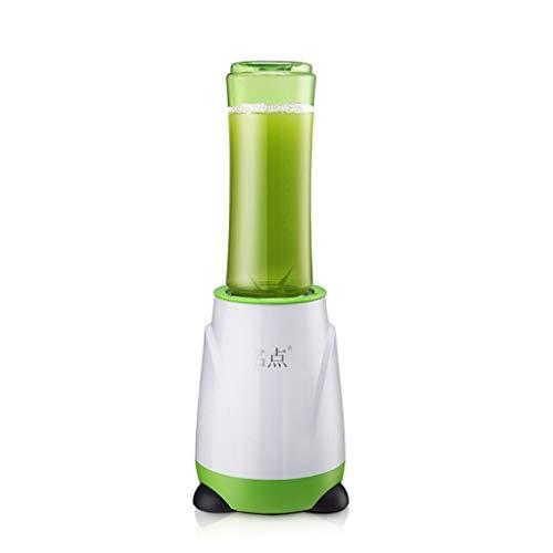 JCOCO Presse-fruits multifonctions, appareil de cuisson portatif, mini-presse-agrumes, presse-agrumes électrique domestique, mélangeur parfait pour un usage personnel (Couleur : Green)