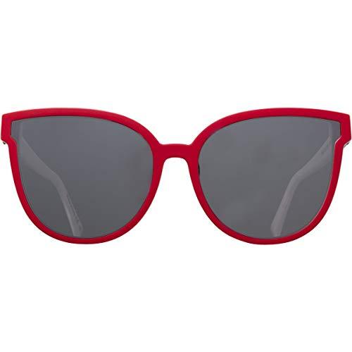 VonZipper Men's Fairchild Sunglasses,OS,Red White Blue/Silver Chrome