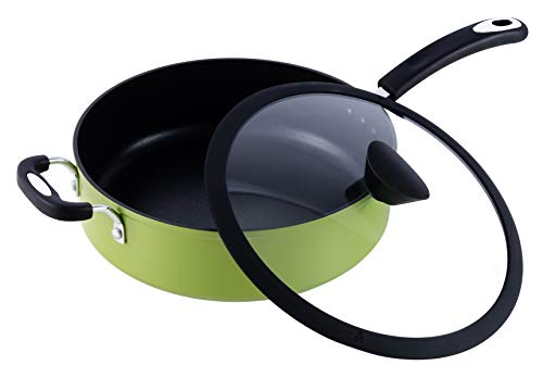 Ozeri The Green Earth All-In-One Sauce Pan 100% APEO, GenX, PFBS,...
