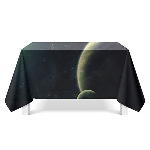 DREAMING-Mantel De Fantasía Estrellada Mantel De Mesa De Comedor Para El Hogar Mueble De Tv Mantel De Mesa Redonda Mantel Individual 140cm * 200cm