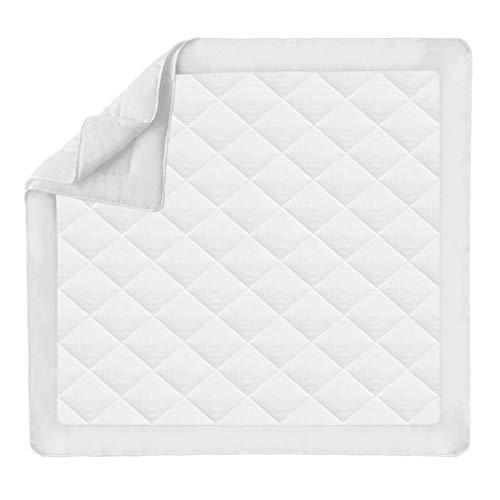 Vislone Daunendecke 4 Jahreszeiten Soft Touch Stepp-Bettdecke Steppdecke Ganzjahres Decke 200 x 220 cm Weiß
