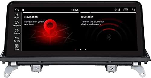 Android 9.0 Navegación GPS para B M W X5 X6 E70 E71 2011-2013 CIC 10,25' Monitor de Pantalla Monitor de Audio Principal Vídeo de Video Multimedia Player Stereo