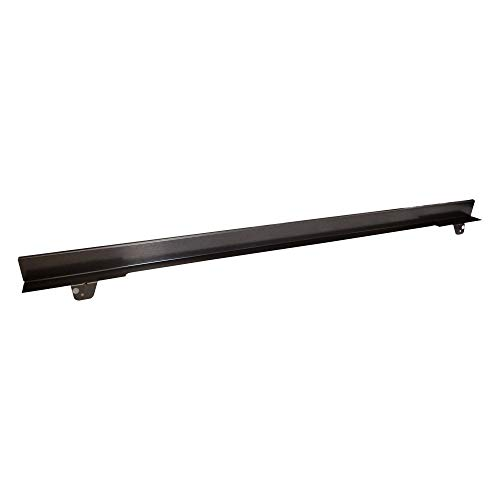 Whirlpool W10727416 30-in Warming Drawer Heat Deflector, Black/Stainless Steel