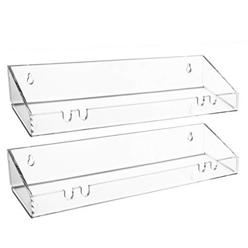 AMT 2 Pack Acrylic Floating Shelves, 15