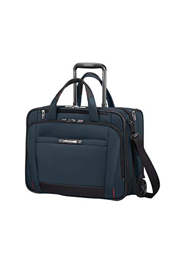 Samsonite Pro-DLX Trolley para portátil 46 Centimeters 34.5 Azul (Oxford Blue)