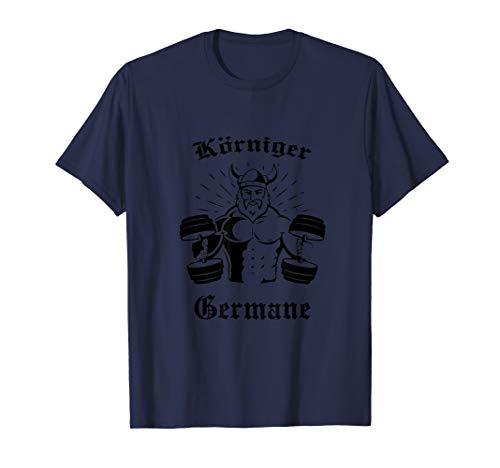 Germane Wikinger Trainings Outfit Herren Geschenk T-Shirt T-Shirt