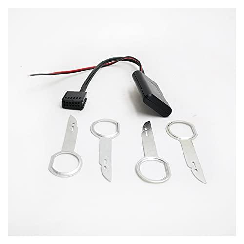 LIULIANG MeiKeL Radio automático 6000cd Módulo Bluetooth AUX-IN Cable Adaptador de Audio inalámbrico Ajuste para Ford Focus Mondeo 6000 CD (Color Name : 1pcs)