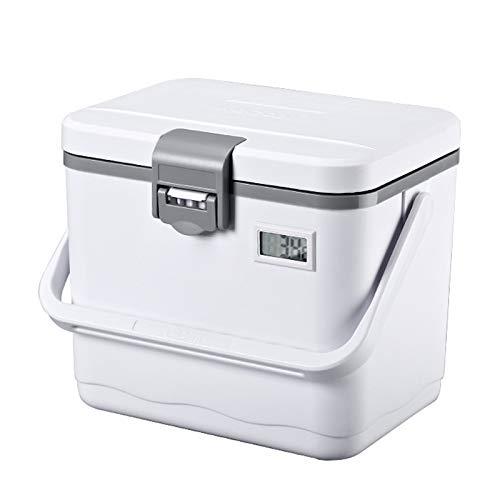 SEOCOM Refrigerador Portátil Más Fresco, Refrigerador con La Manija, Mini Refrigerador Refrigerador para El Coche, Viajes, Camping, Camión 4.76 Cuartos De Galón