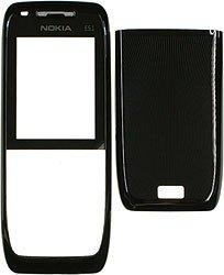 Original Nokia E51 A+C Cover black steel