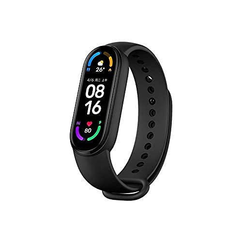 Xiaomi Mi Band 6 1.56 Inch Full Touch Screen Sport Wristband 24h Heart Rate Fitness Tracker 5ATM Waterproof Smart Band...