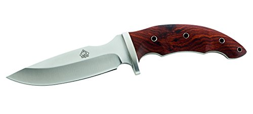 Puma tEC Couteau en Acier aISI 420 tengwood Manche-Fourreau en Cuir