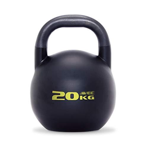 ZXQZ Fitness-Hantel Kettlebells, Sport-Kettlebell Aus Gusseisen, Schaukelhantel für Krafttraining, Gymnastik und Heimübungen, 20 Kg / 24 Kg Kleine Hantel (Size : Style2)
