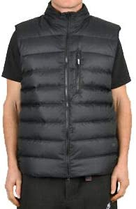 Nike SB Men's Down Fill Vest Full Zip Black Puffer 938510 010, Black, X-Small