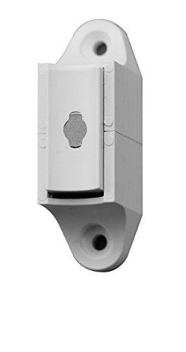 Schellenberg Magnet-Wandhalter für Rollladen-Kurbel | Weiß | Kunststoff |Rolladenzubehör