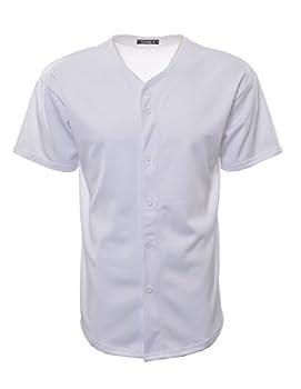white plain baseball jersey