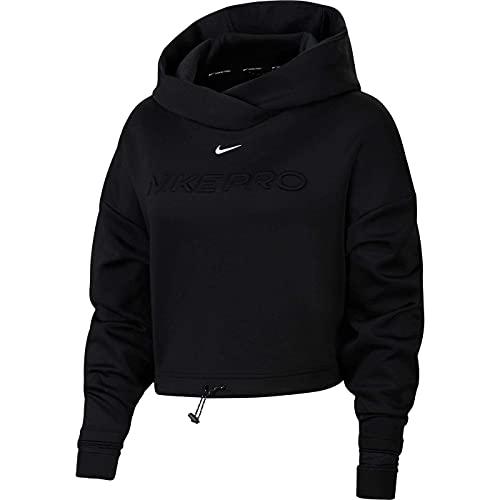 Nike Np CLN Fleece Innovation Kapuzensweat Black/Metallic Silver M