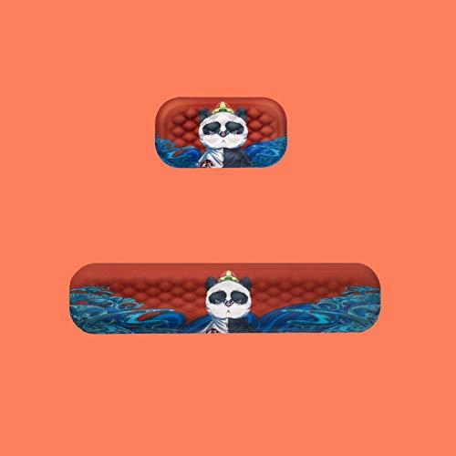 Panda-Tastatur-Handgelenk-Restpolster Gepolsterte Memory-Foam-Handstütze Mit Tierischer Muster-Unterstützung Für Büro, Computer, Laptop, Lindert Handgelenkschmerz Und Komfortables Tippen,Medium Set
