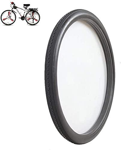 Neumáticos de Bicicleta, neumáticos sólidos a Prueba de explosiones de 24 Pulgadas 24 x 1,75, neumáticos elásticos Resistentes al Desgaste, Antideslizantes, Resistentes a Las puñaladas, Accesorios pa