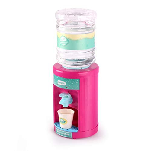 con LED Mini Simulación Dispensador de agua de juguete Juego de cocina Casa dispensador de agua de juguete juguetes eléctricos para niños para niños y niñas