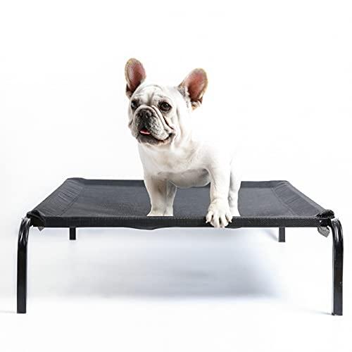 Backboards Cama de Gato,Lona Rectángulo Hamacas de Mascotas,Duradera Soporte de Madera Maciza,para Casa Pequeños Perros de Conejo Mascota,S