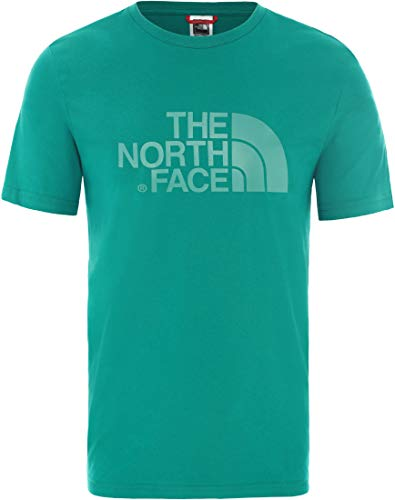 The North Face M S/S Easy Tee Fanfare Green T-Shirt Homme, FR : S (Taille Fabricant : S)