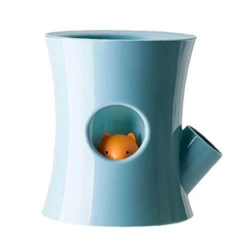 DierCosy Auto-riego Tiesto suculento de Planter absorbentes de Agua Libre de Agua hidropónico Perezoso para la decoración casera Superior Azul