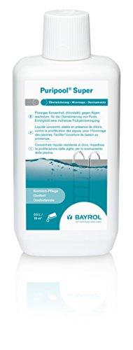 BAYROL Puripool Super - Flüssiges Überwinterungskonzentrat - Chlorstabil und schaumfrei - Ohne Kupfersulfat - 1 L