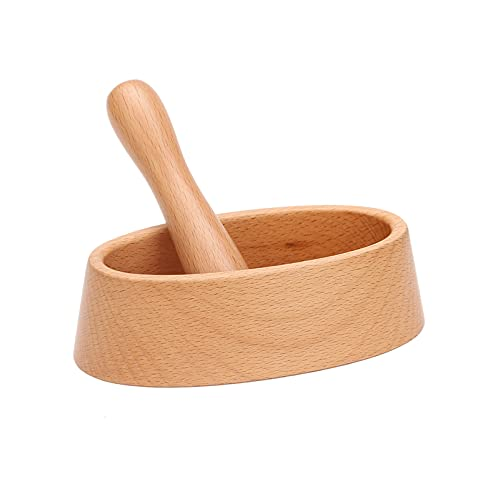 ZQYYUNDING Mortar and Pestle Set – Pill Crusher, Spice Grinder, Herb Bowl, Pesto Powder Grinding Bowl Guacamole Bowl