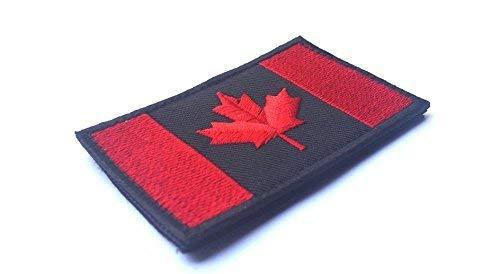 XGBDTJ Insignia De La Bandera Canadiense Parche De