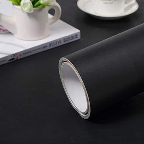 1M/2M waterdicht marmer behang Vinyl zelfklevende film woonkamer muur Decor keuken kasten desktop lade contactpapier 40cm x 2m mat zwart