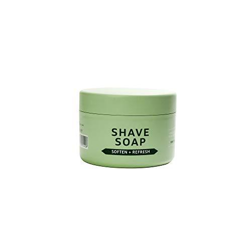 Barberino's - Jabón de afeitar para afeitado tradicional con brocha